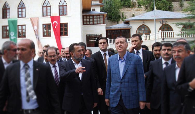 Tayyip Erdoğan Darende hamidettin ates hulusi efendi vakfi