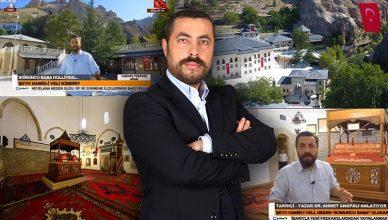 Tarihte Yürüyen Adam Ahmet Anapalı Ülke Tv Darende Somuncu Baba