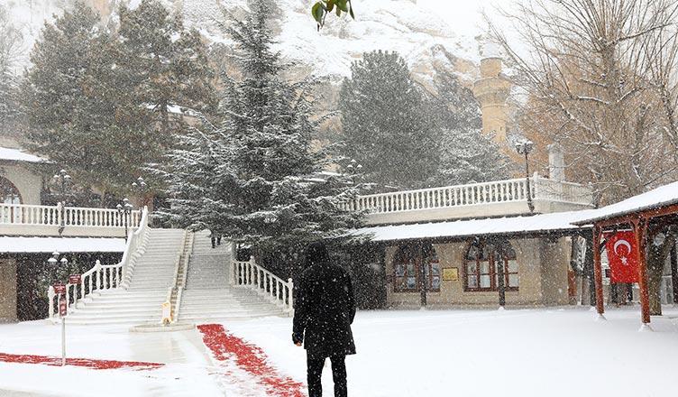 somuncu baba darende kar manzarası