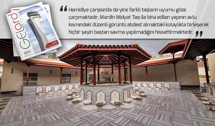 gelar dergisi somuncu baba külliyesinde kullanılan taşlar