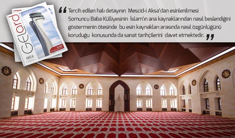 gelard dergisi somuncu baba külliyesinin mimari özellikleri