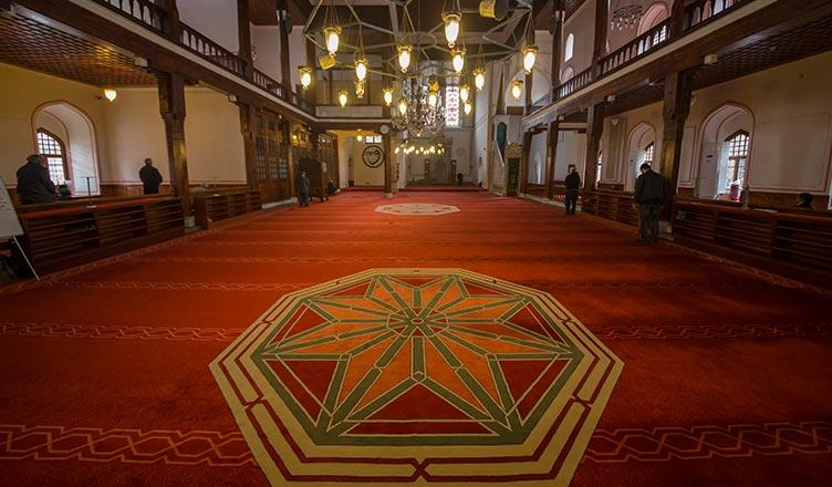 Sekiz Köşeli Yıldız Motifi / İstanbul Arap Camii