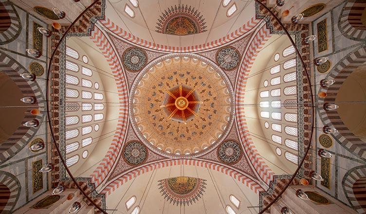 Sekiz Köşeli Yıldız Motifi / İstanbul Süleymaniye Camii