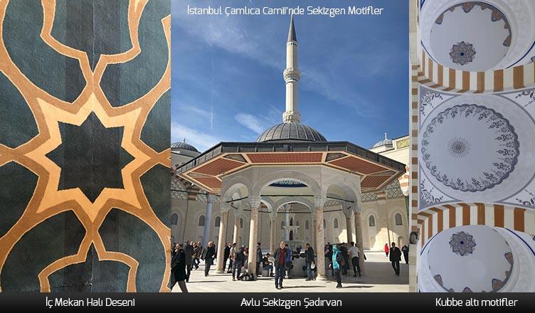 Sekiz Köşeli Yıldız Motifi / İstanbul Çamlıca Camii