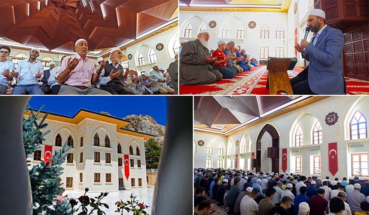15 temmuz mevlid ve dua programı yapıldı