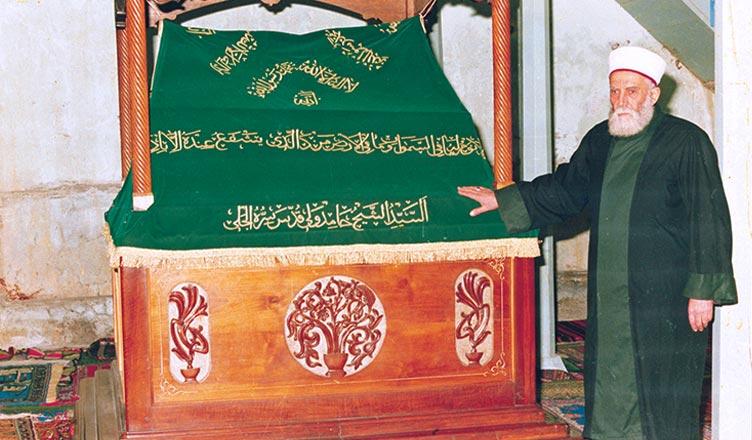 osman hulusi efendi somuncu baba türbesi yanında darende